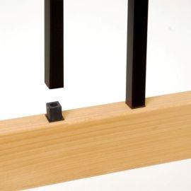 Standard Estate Square Baluster Connectors by Deckorators - Level