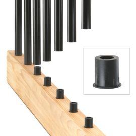 Round Level Baluster Connectors by DecKorators