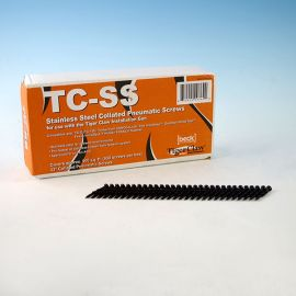 Tiger Claw Stainless Steel NailScrews come with 930 screws per box.