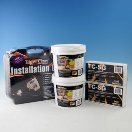 Buy (2) TCG Buckets and (2) NailScrew packs, get the Tiger Claw Installation Gun FREE!