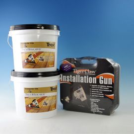 Buy (2) Hidewaway Buckets, get the Tiger Claw Installation Gun FREE!