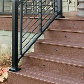 Signature Stair Rod Rail Kit by Trex on the HGTV Dream Home 2018