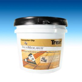 Trex Hideaway Stainless Steel Hidden Fastener System -900 Gun Pail