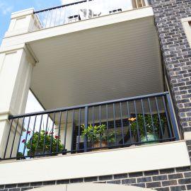 Channel for UpSide Deck Ceiling - Installed - Finished System