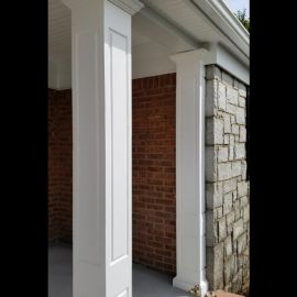 Add a touch of decorative detail to your entryway and outdoor space with the VERSAWRAP Raised Panel Column Wrap.