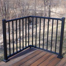 Corner Section Kit for Westbury Tuscany Aluminum Railing