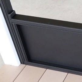 ScreenRail Kick Panel Section by Westbury - Black