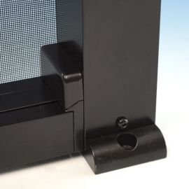 ScreenRail Posts With Post Mounts - Mount Detail