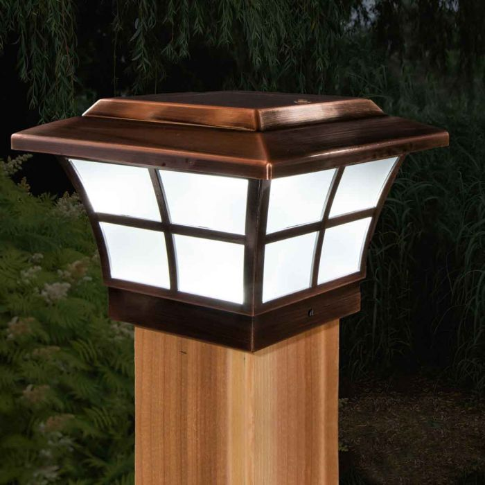 Solar Post Cap Light By Cly Caps