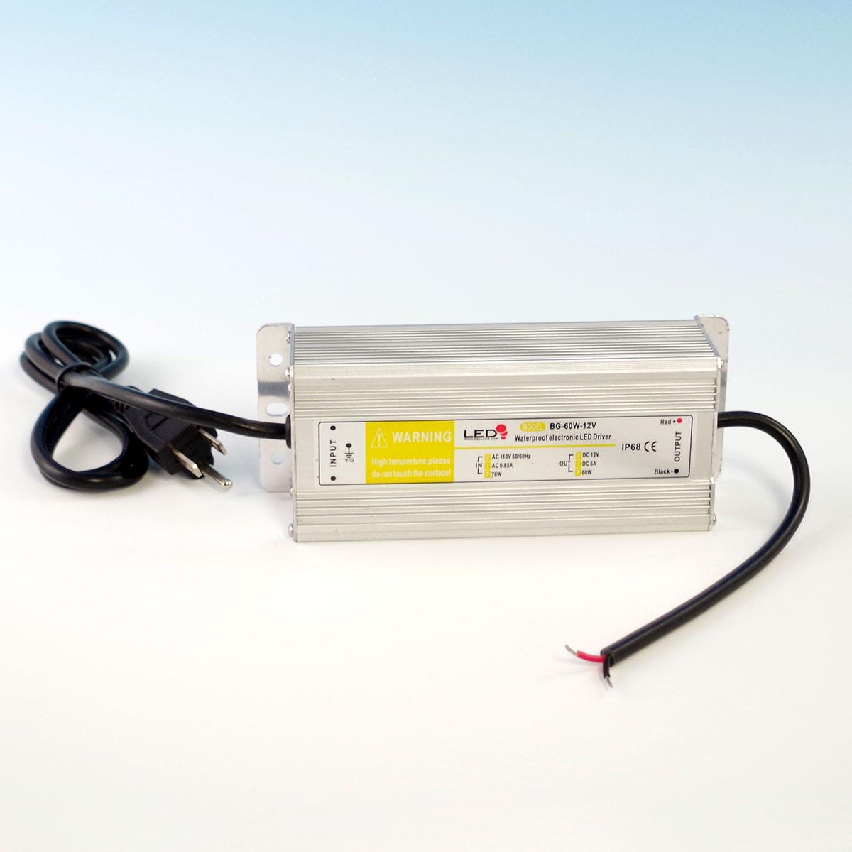 Contractor Grade LED Transformer by DecksDirect-60 watt