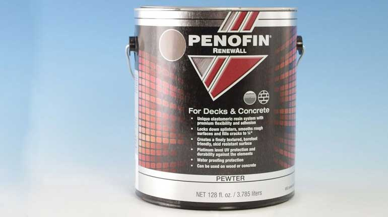A can of Penofin stain