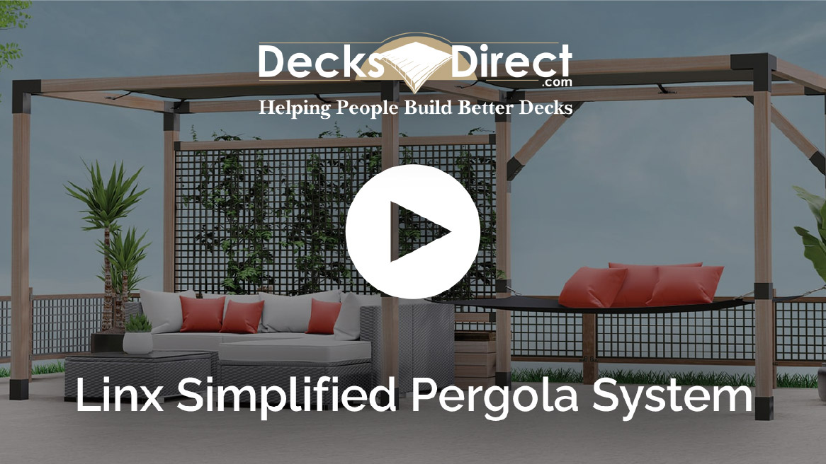 Linx Simplified Pergola System - video thumbnail