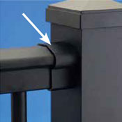 Railing Guide Terms - bracket