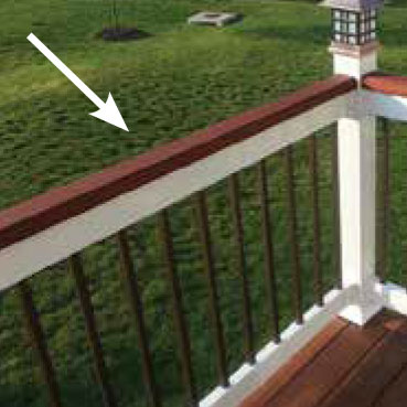 Railing Guide Terms - Rail Cap