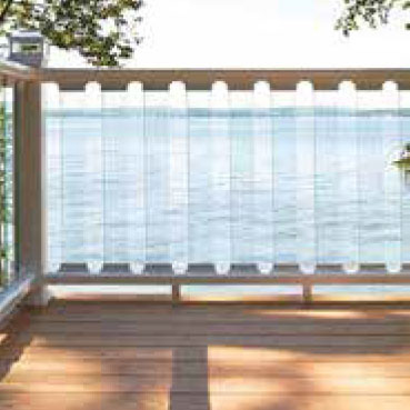Railing Guide Terms - railing infill - glass
