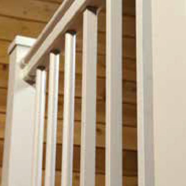 Railing Guide Terms - railing infill - standard balusters