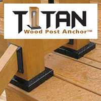 Titan Wood Post Anchors