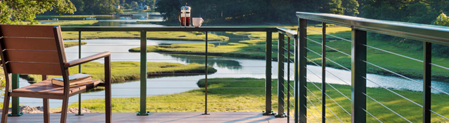 Shop Cable Deck Railing - Westbury, Fortress, Feeney, and More ...