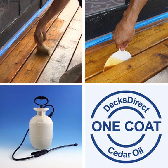 Cedar Oil Application Tools