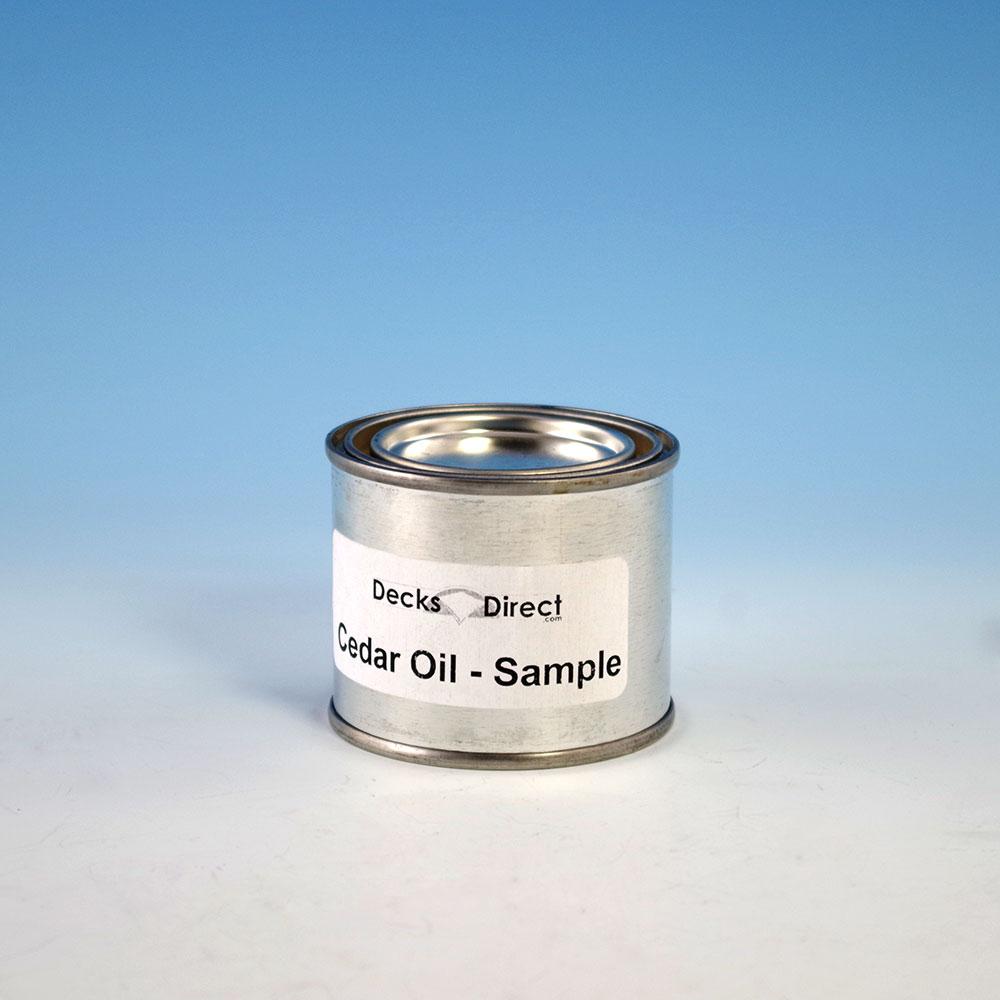 Cedar Oil Sample