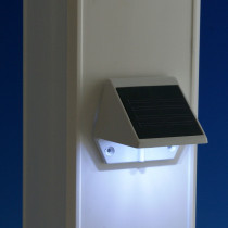 Classy Caps Solar Rail Lighting