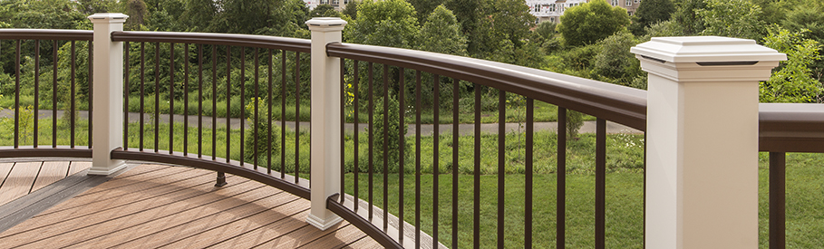 glass deck railing systems canada cable composite lowes