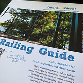 deck railing guide
