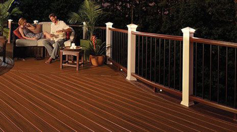 Deck Lighting Image Gallery