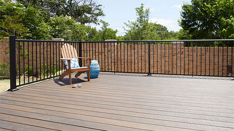Fortress AL13 Home Aluminum Panel Railing System