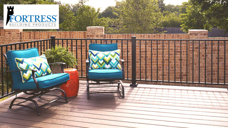 sit back and relax with Fortress AL13 home railing