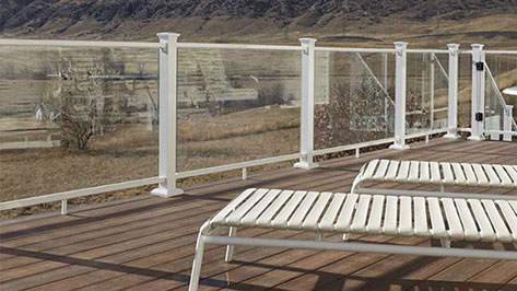 Fortress Pre View Glass Railing Image Gallery