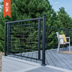 Fortress Horizontal Cable Railing
