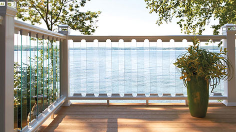Glass Deck Railing Image Gallery