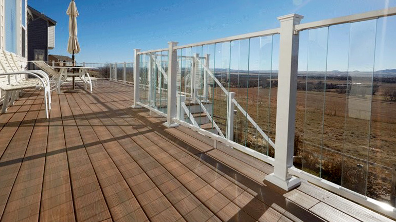 Fortress AL13 & Pure View Glass Railing System