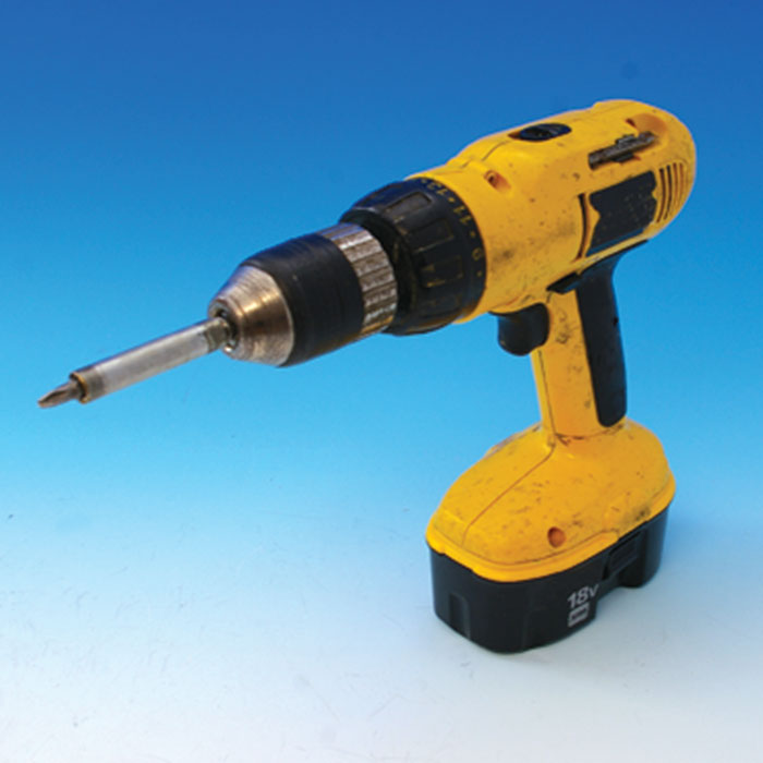 a yellow drill