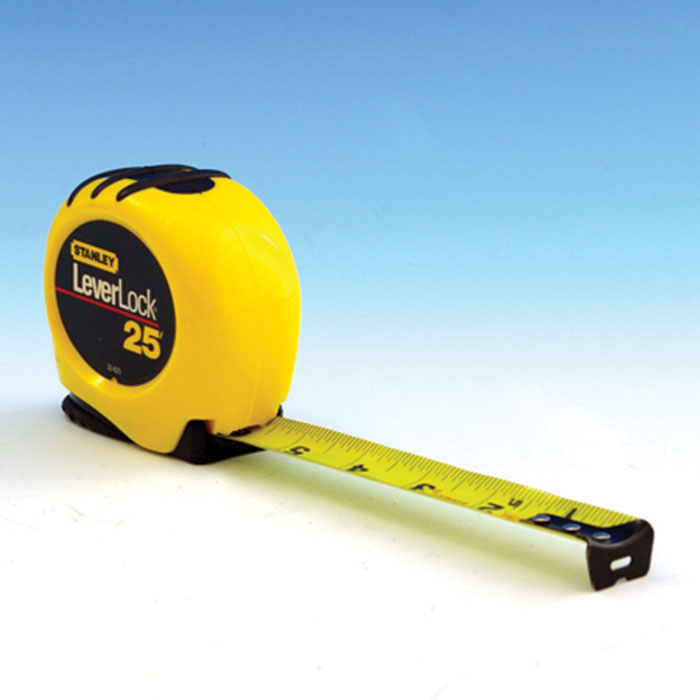 a yellow tape measurer
