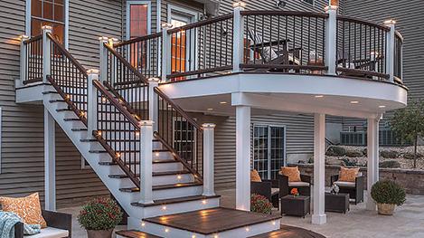 Trex Deck Lighting Image Gallery