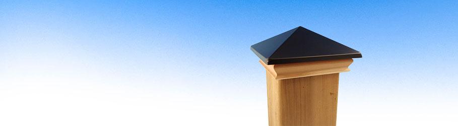 Wood Base Post Caps