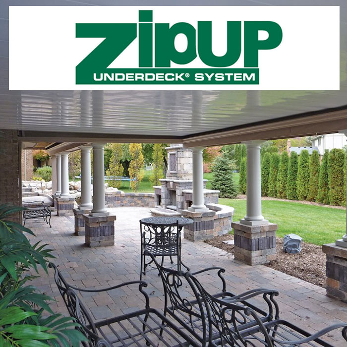 a zipup underdeck project with zipup logo