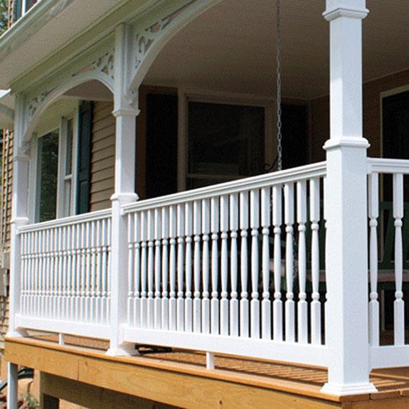 Fairway vinyl railing systems v contour
