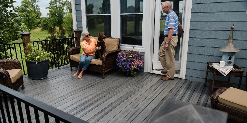 Check out these easy steps on how to clean Envision decking today!