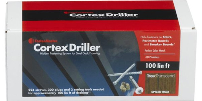 Cortex Concealed Fasteners for Metal Framing
