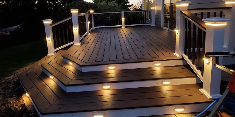 How to Create an Outdoor Stair Lighting Design