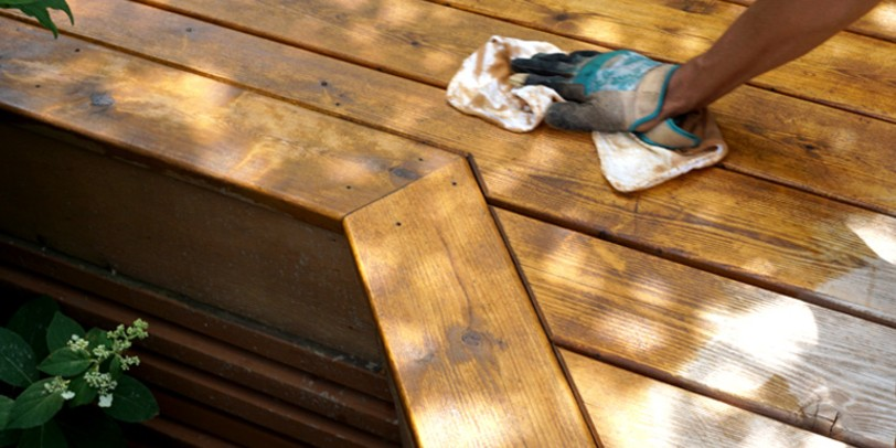 Find out how long you should wait to stain your deck after washing it and start your project today!