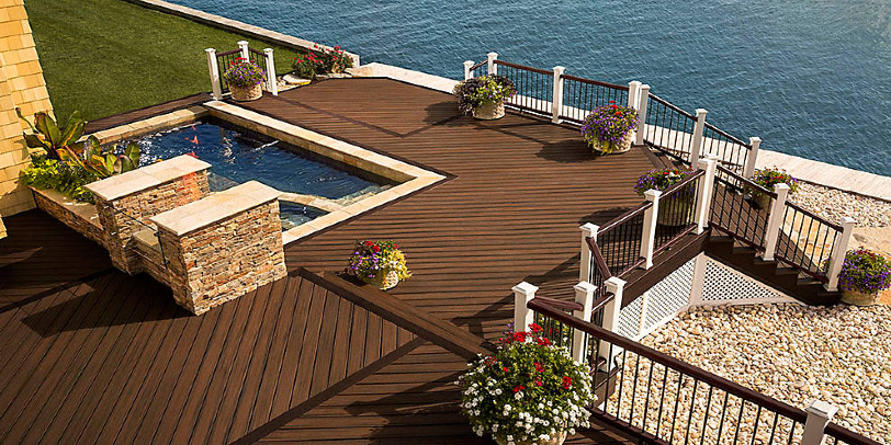 Browse the decking material options for 2020 and find the best decking and flooring option for your home!