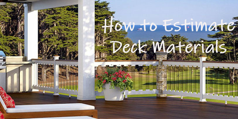 Use the free deck estimating tools on DecksDirect to find out just how many balusters, posts, railing sections and more your home needs