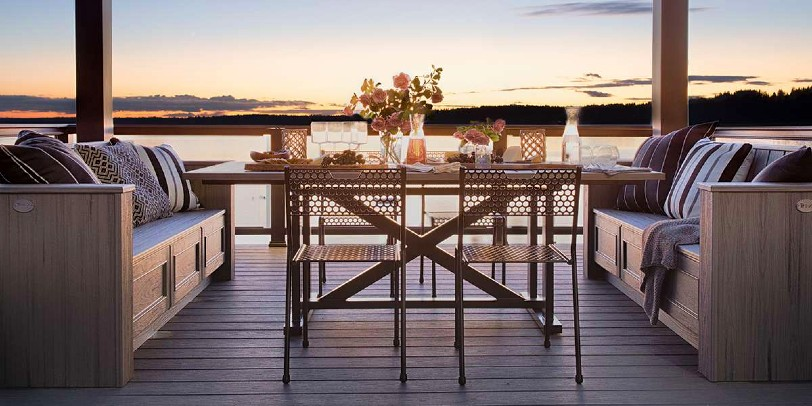 Difference Between Trex Decking Lines