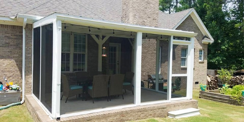 The Diffe Types Of Screen Material, How To Screen In A Patio Porch