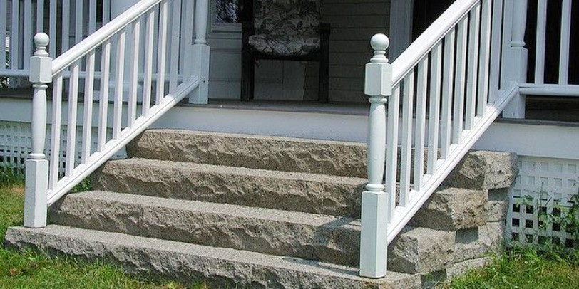 Building a Handrail for Concrete Stairs