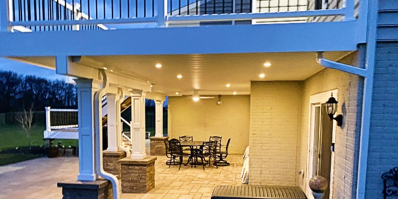 Find out how to clean under deck drainage systems and keep your patio space nice!